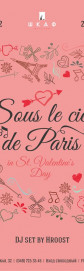 14/02 Sous le ciel de Paris party