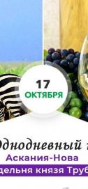 Однодневный тур в заповедник «Аскания Нова» и на винодельню Трубецкого